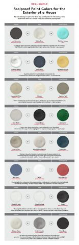 How to Pick the Perfect Paint Colors for Your House Exterior   We asked the experts for their no-fail picks.