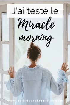 J'ai testé le Miracle Morning – Parrot Positive Attitude, Positive Vibes, Miracle Morning, Morning Blessings, Free Mind, Peace Of Mind, Positive Affirmations, Self Improvement, Happy Life