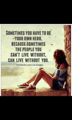 I need a hero my new inspiration!