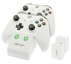 Buy Venom Xbox One S Twin Controller Charging Dock at Argos.co.uk, visit Argos.co.uk to shop online for Xbox One accessories, Xbox One, Video games and consoles, Technology