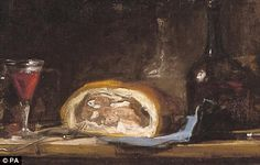 Still Life (a meal) by Chardin