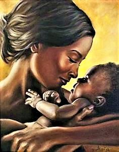 Find this Pin and more on mother. A Mother's Love, African-American mother and child, art. Art Black Love, Black Girl Art, My Black Is Beautiful, Art Girl, Black Love Images, Beautiful People, Arte Black, Afrique Art, Black Art Pictures