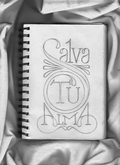 """""""save your soul"""". the lines, the type- so incredibly beautiful."""