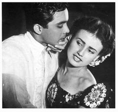 Still from the movie Pusong may Lason Lucy May Gritz was a chubby teenager with pretty German-Spanish mestiza features when she w. Filipino Fashion, Filipino Culture, Filipiniana, Spanish Culture, Barbara Stanwyck, Old Ads, How To Speak Spanish, Montenegro, Vintage Photos