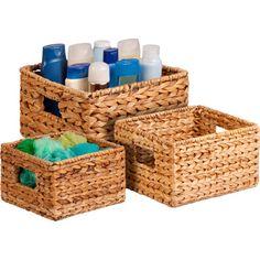 Found it at Wayfair - 3 Piece Nesting Natural Basket Set