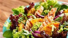 Šalát so salámou | Kuchyňa Lidla Salad Bar, Lidl, Lettuce, Pasta Salad, Cantaloupe, Ale, Salads, Sandwiches, Food Porn