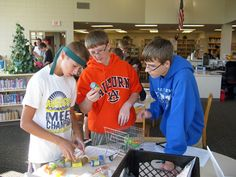 "students at West Central at Hartford competed in ""Amazing Race"" scavenger hunt"
