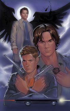 Supernatural by amherman.deviantart.com on @DeviantArt