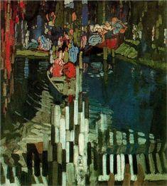 Piano Keys Lake - Frantisek Kupka