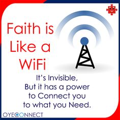 Hit 'Like' if you agree there  #Faith #WiFi