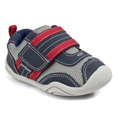 Pediped Grip N Go - Adrian Navy/Gray/Red