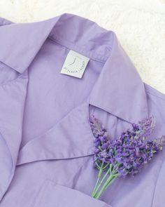 "Camisola estilo ""camisão"" Lavanda. Shirt Dress, Mens Tops, Shirts, Dresses, Fashion, Lavender, Style, Vestidos, Moda"