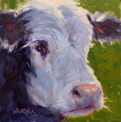 """Daily Paintworks - """"Day 16 of 30 Paintings in 30 Days"""" - Original Fine Art for Sale - © Ginny Butcher"""