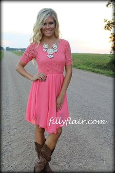 All lace days dress - Filly Flair