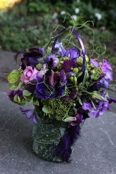 botanical purse with purple flowers7, Françoise Weeks