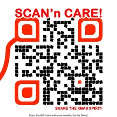 Scan and share, scan and care.