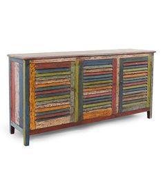 Look at this Fregata Shutter Sideboard on #zulily today!