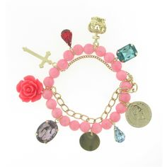 Loving this chain link charm bracelet! Only at prettymints.com!