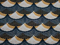 """patternbase:  """"Curtain Call"""" by Alyse Czack. From The Pattern Base: Over 550 Contemporary Textile and Surface Designs by Kristi O'Meara and edited by Audrey Victoria Keiffer."""