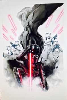 Star Wars - Darth Vader #1 by Alex Ross *