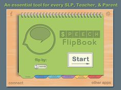 Speech FlipBook Standard - Articulation & Apraxia by Tactus Therapy Solutions Ltd.