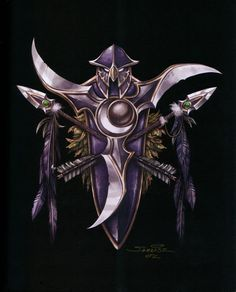 На экране: The_Art_of_World_of_Warcraft_p023.jpg.