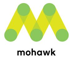 Nice work by Pentagram for Mohawk paper's logo and branding.