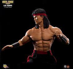 Pre-order Pcs Mortal Kombat Liu Kang 1 4 Scale Statue Video Game