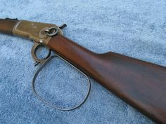 The Rifleman's Rifle: a modified Winchester 1892 in cal Weapons Guns, Guns And Ammo, Airsoft Guns, Western Holsters, Cowboy Holsters, Henry Rifles, Cowboy Action Shooting, The Rifleman, Lever Action Rifles