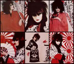 Siouxsie Sioux ........Vocalist & Fashion Icon <3