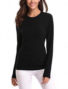 Damen Langarm Pullover Rollkragen Shirt T-Shirt Rolli Bluse Top Slim Fit Casual