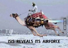 Breaking News: ISIS reveals it's new Airforce |Right Wing Humor