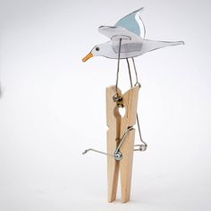 Finalising the instructions for #junkAutomata Seagull. #photography #automata #mechanism #maker