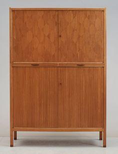 David Rosen; Mahogany and Palisander Cabinet, 1955.