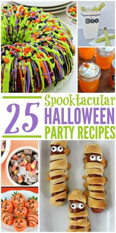 Looking for some fun recipes for Halloween parties or just surprising your family? Check out our list of 25 Spooktacular Halloween Party Recipes here!