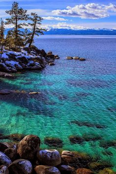Lago Tahoe's CaliforniaGoogle+