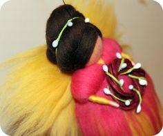 Merino wool fairy