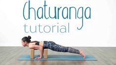 This has to be the best explanation of chaturanga ever. It's helped me so much! || Chaturanga tutorial - Lizette Pompa - YouTube