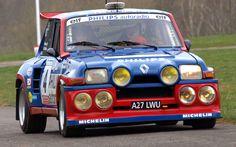 Renault 5 Turbo rally car