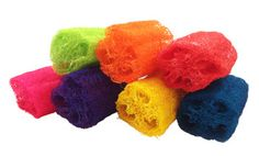 Colored Loofah for Chinchillas Gerbil Toys, Chinchilla Food, Natural Loofah, New Toys, Hand Coloring, Fur Babies, Bunny, Tropical, Chinchillas