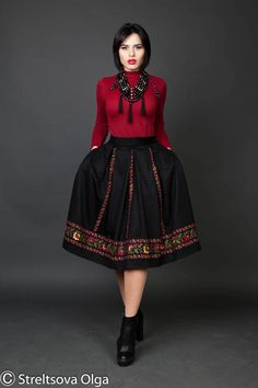 Русские узоры. Фольклорный стиль (Russian patterns. Folklore style)
