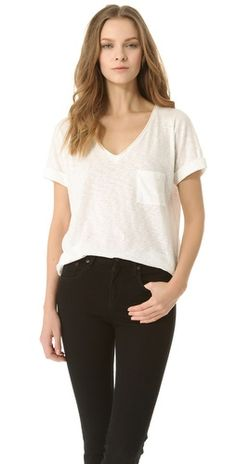 Rag & Bone/JEAN The Pocket V Tee $115.00