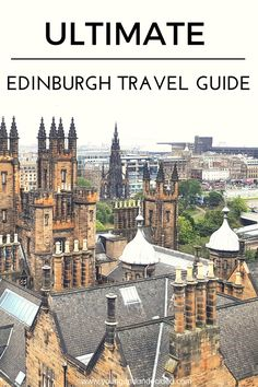 My Ultimate Edinburgh Travel Guide. Everything from Hill Walking and Good Food to Ghost Tours and tourist attractions.I promise you will not be disspointed Scotland Travel Guide, Scotland Road Trip, Europe Travel Tips, Ireland Travel, European Travel, Travel Guides, Travel Destinations, Travel Articles, Travel Info