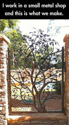 Would love this iron gate!