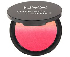 Powder Blush  These gorge gradient shades look like a sunset in a package. They'll look just as warm and glowy on your cheeks. NYX Ombré Blush ($10, nyxcosmetics.com)
