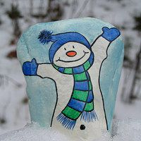 Zboží prodejce Jana a Martin / Zboží Rock Painting Patterns, Rock Painting Ideas Easy, Rock Painting Designs, Christmas Pebble Art, Christmas Rock, Christmas Crafts, Xmas, Painted Rocks Craft, Hand Painted Rocks