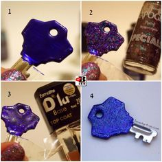 Beauty4Us: DIY: Chave Decorada