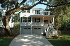 Copeland Harbor - Coastal Home Plans Coastal House Plans, Coastal Homes, Elevated House Plans, Harbor House, Cottage Plan, River House, Home Improvement, Floor Plans, How To Plan