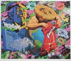 Robert Williams Nostradamus Limited Edition Lithograph