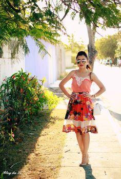 Blog da Lê-Moda e Estílo: No look midi orange